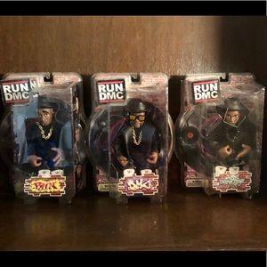 COPY - RUN DMC Mezco Figures Complete Set